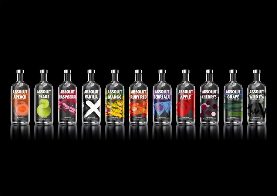 ABSOLUT Flavours range_0