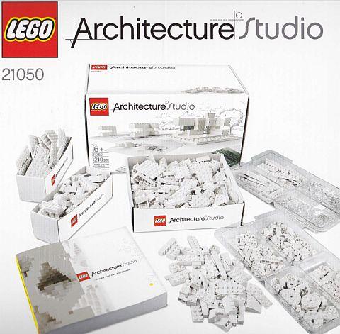 LEGO-Architecture-Studio-Content